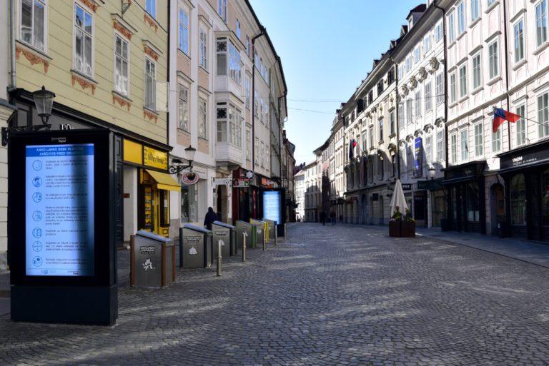 स्लोभानियामा कर्फ्यू देशव्यापी कर्फ्यू घोषणा