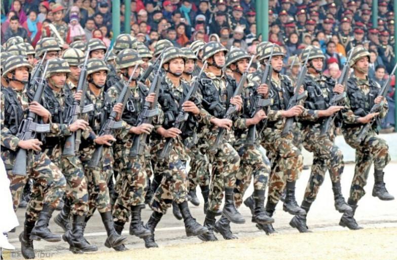 यी हुन नेपाल एकीकरण गर्दा स्थापित  नेपाली सेनाका गाैरवमय पाँच पल्टनहरु