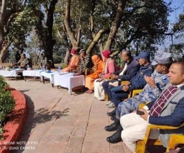नेपाली सेनाले प्युठान स्वर्गद्वारीमा बनायो 'स्वर्ग बाटिका'