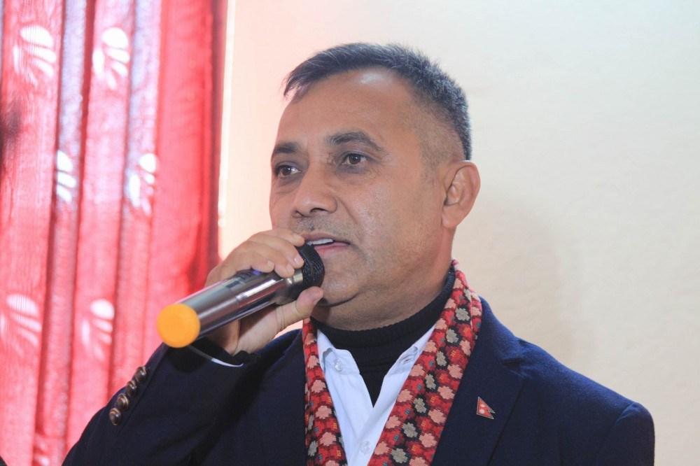 नेपाली काँग्रेस  भित्र कुनै विवाद छैन् : शर्मा